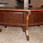 Custom Designed Timber Table w/ Hand-Cut Mortises, Oak, Maple, and Cypress Material. (View 1)