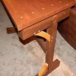 Custom Designed Timber Table w/ Hand-Cut Mortises, Oak, Maple, and Cypress Material. (View 3)