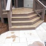 Collegedale deck stairs