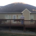 East Brainerd Deck and Porch Before